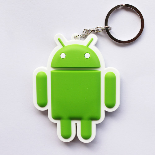Android Robot Keychain