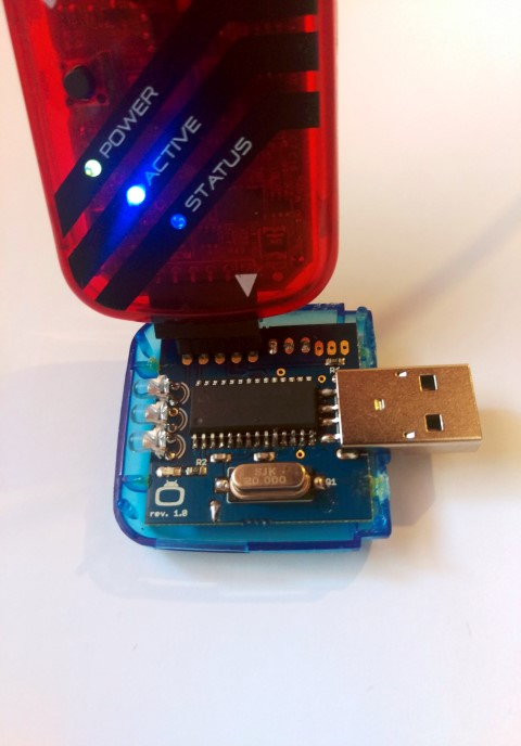 Flashing NEW Firmware to Irdroid USB IR Transceiver