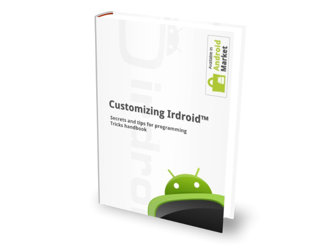 Irdroid v1.0 user manual